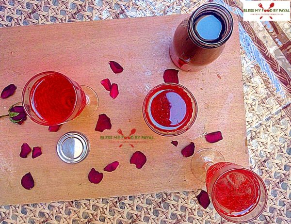 rooh afza syrup recipe
