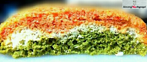 Tri color dhokla recipe tiranga dhokla or a knife in the batter and if the toothpickknife comes out clean your dhokla is ready otherwise let it cook for a further period of 5 to 7 minutes forumfinder Image collections