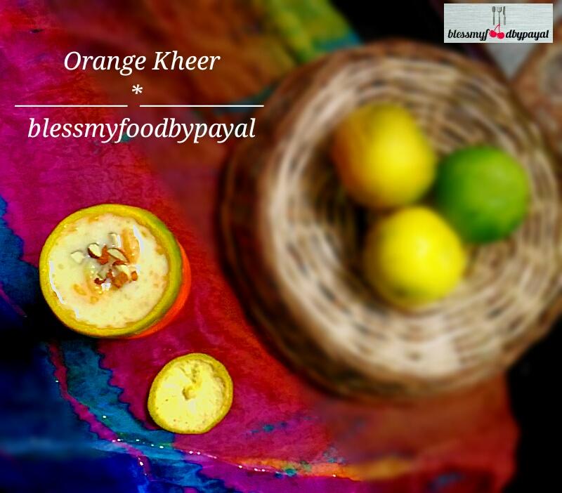 Orange Kheer