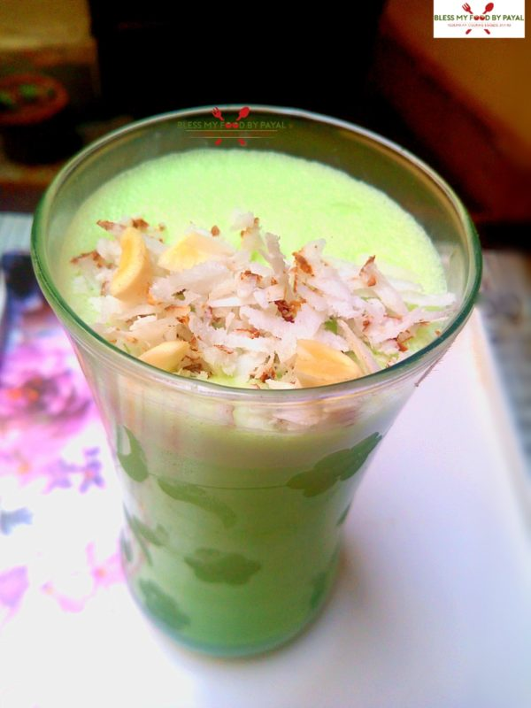 coconut milkshake
