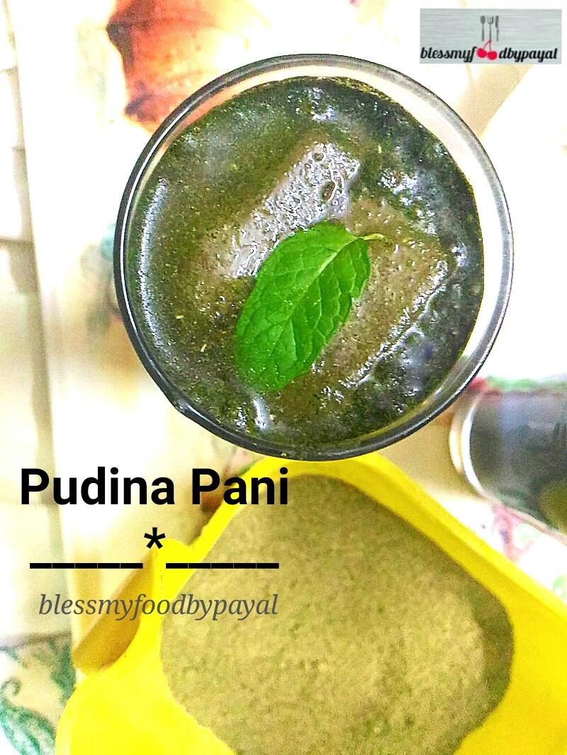 pudina water