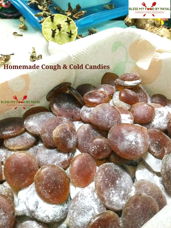 Homemade Cough & Cold Candies