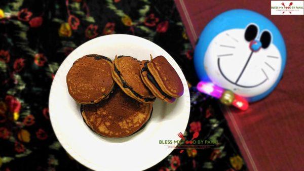 Japanese Dora Cake Recipe: Dora Cake Recipe Eggless