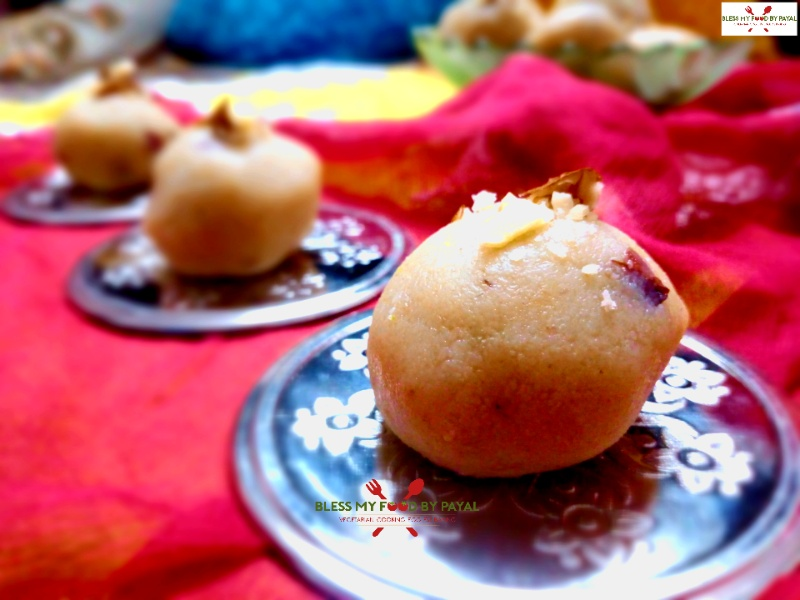 ladoo from leftover ghee residue
