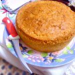 simple eggless vanilla sponge cake
