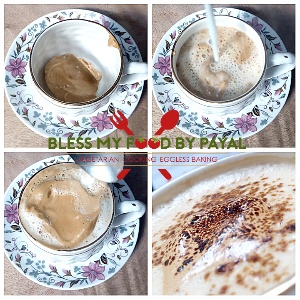 homemade cappuccino without machine